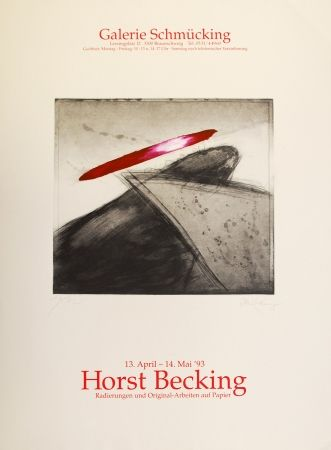 Aguafuerte Y Aguatinta Becking - Radierungen und Original-Arbeiten auf Papier