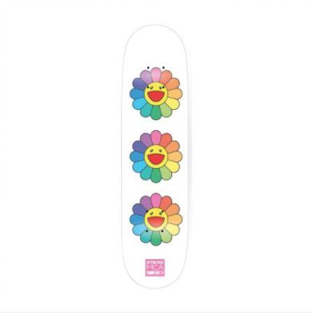 Sin Técnico Murakami - Rainbow Flower Skate Deck