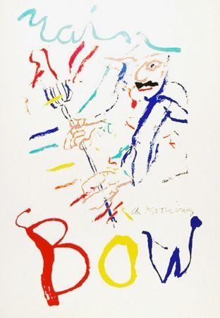 Litografía De Kooning - Rainbow: Thelonius Monk, Devil at the Keyboard
