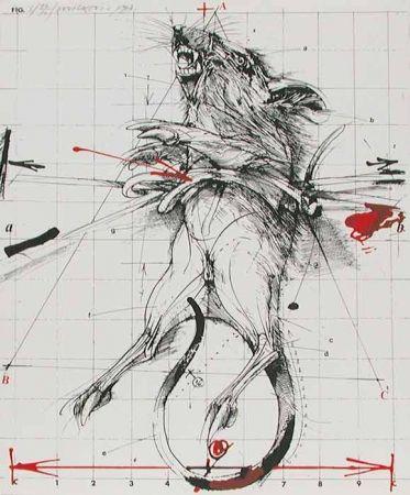 Litografía Velickovic - RAT
