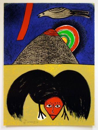 Litografía Corneille - Raven No. 4
