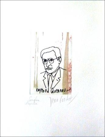 Aguafuerte Cortot - Raymond Queneau