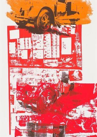 Serigrafía Rauschenberg - Read Bleed