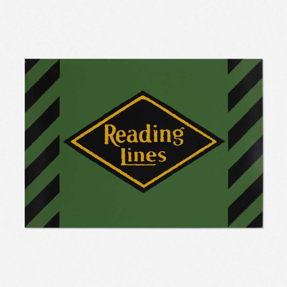 Serigrafía Cottingham - Reading Lines