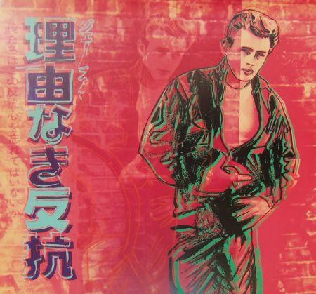 Serigrafía Warhol - Rebel Without a Cause (James Dean) (FS II.355)