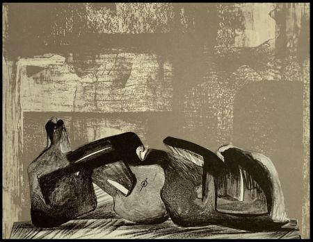 Litografía Moore - Reclining Figure