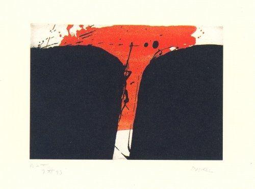 Grabado Borrell Palazón - Records de paisatge-3