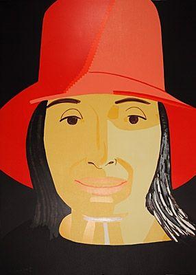 Grabado En Madera Katz - Red Hat Ada