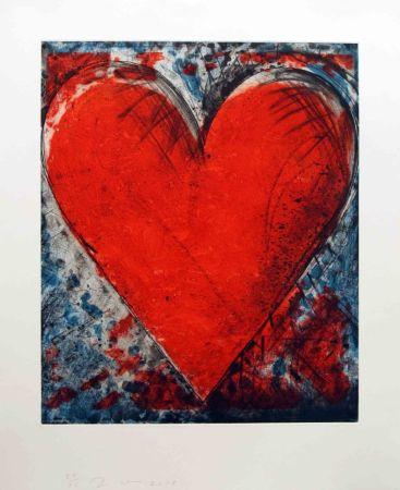 Colografía Dine - Red Stamp