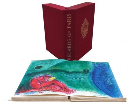Libro Ilustrado Chagall - Regard sur Paris