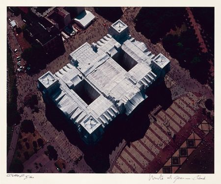 Fotografía Christo - Reichstag Mappe II, Dach