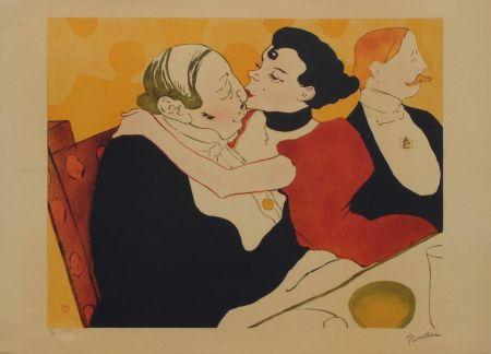 Litografía Toulouse-Lautrec - Reine de joie