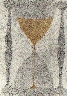 Aguafuerte Y Aguatinta Ruscha - Reloj de arena