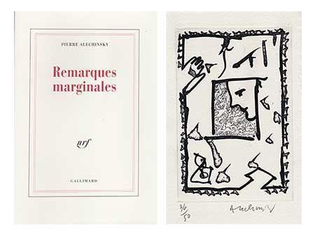 Libro Ilustrado Alechinsky - Remarques Marginales