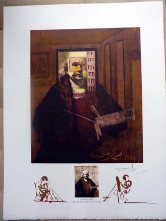 Litografía Dali - Rembrandt