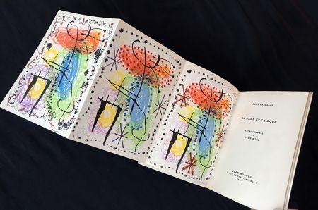 Libro Ilustrado Miró - René Cazelles. LA RAME ET LA ROUE. Lithographie de Joan Miro. Paris, 1960