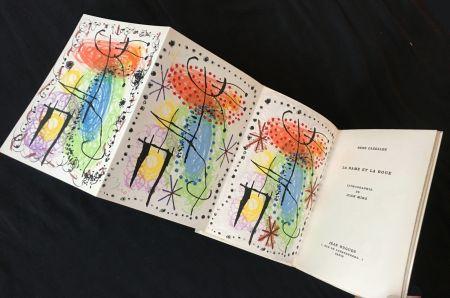 Libro Ilustrado Miró - René Cazelles. LA RAME ET LA ROUE. Lithographie de Joan Miro signée et numérotée (1960)
