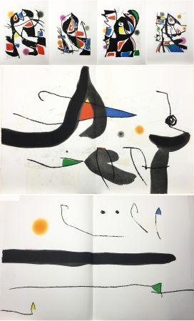 Libro Ilustrado Miró - René Char : LE MARTEAU SANS MAÎTRE. 23 gravures en couleurs (1976)