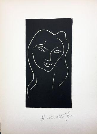 Libro Ilustrado Matisse - René Char : LE POÈME PULVÉRISÉ. Linogravure originale signée (1947).