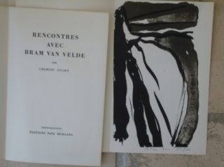 Libro Ilustrado Van Velde - Rencontres avec Bram Van Velde
