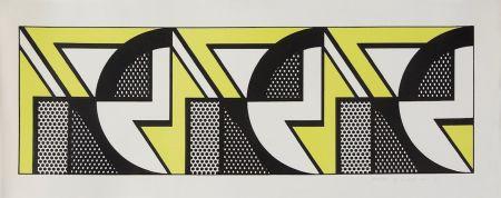 Litografía Lichtenstein - Repeated Design
