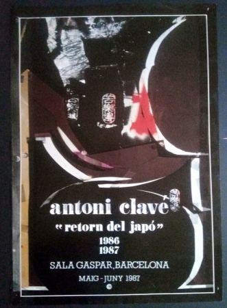 Cartel Clavé - Retorn al Japó - Sala Gaspar 1987