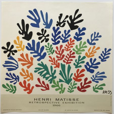 Cartel Matisse - Retrospective Exhibition