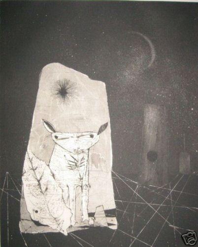 Aguafuerte Y Aguatinta Friedlaender - Reves Cosmiques