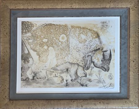 Grabado Dali - Rhinoceros