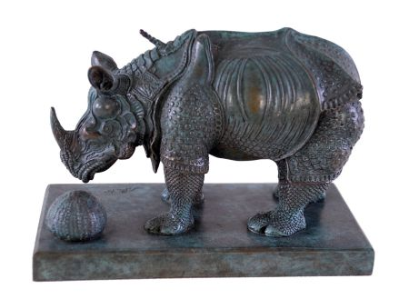 Múltiple Dali - Rhinoceros Dressed in Lace - Rhinocéros habillé en dentelles