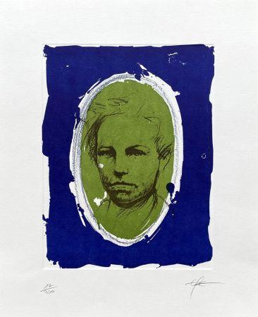 Litografía Pignon-Ernest - Rimbaud