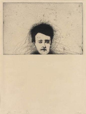Grabado Dine - Rimbaud