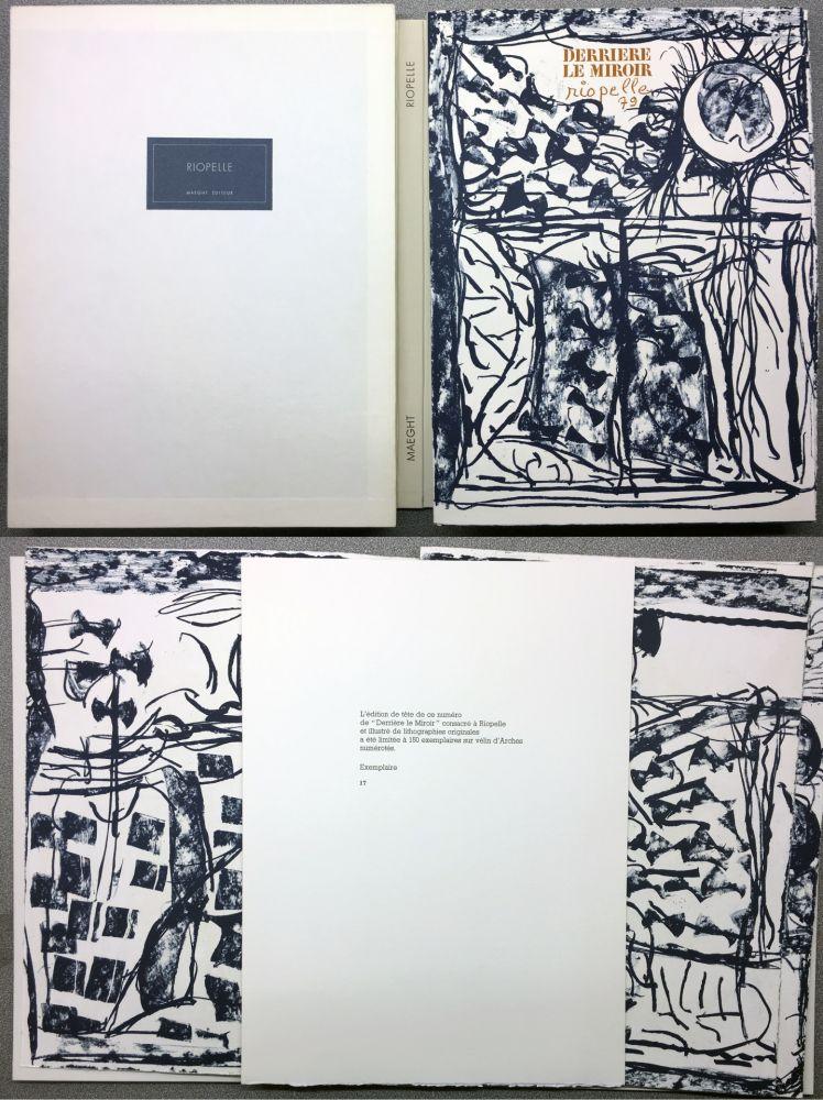 Libro Ilustrado Riopelle - RIOPELLE. DERRIÈRE LE MIROIR N° 232. Janvier 1979. TIRAGE DE LUXE SUR ARCHES.
