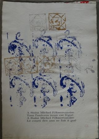 Libro Ilustrado Arman - Ritournelle pour Saint Michel l'Observatoire