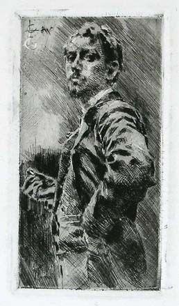 Grabado Conconi - RITRATTO DI LUIGI ARRIGONI (Portrait of Luigi Arrigoni)