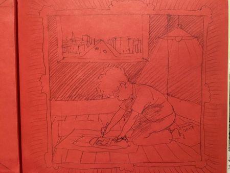 Libro Ilustrado Lehrer - Rocket Boy