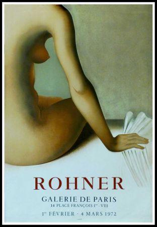 Cartel Rohner - ROHNER - GALERIE DE PARIS