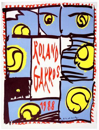 Cartel Alechinsky - Roland Garros