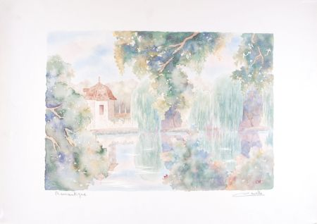 Litografía Cavalle - Romantique