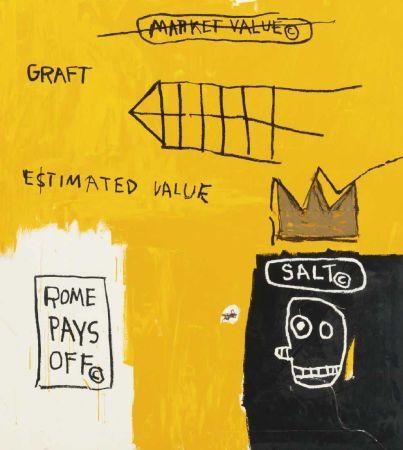 Múltiple Basquiat - Rome pays off