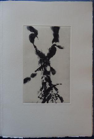 Aguafuerte Zao - Rompre le cri (2 etchings)