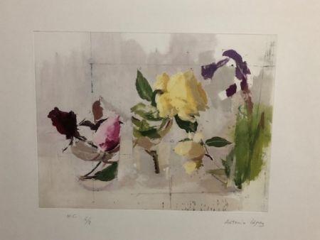 Aguafuerte Lopez - Rosas de año Nuevo