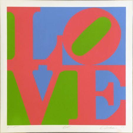 Serigrafía Indiana - Rose (from A Garden of Love)