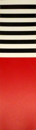 Serigrafía Nemours - Rot – weiss – schwarz