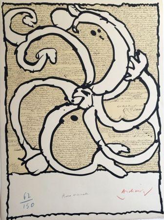 Litografía Alechinsky - Roue Vicinale