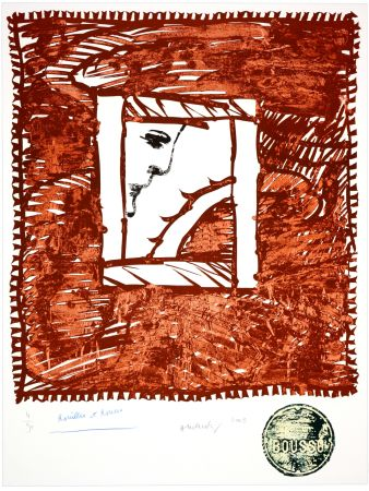 Litografía Alechinsky - Rouilles et Ronces