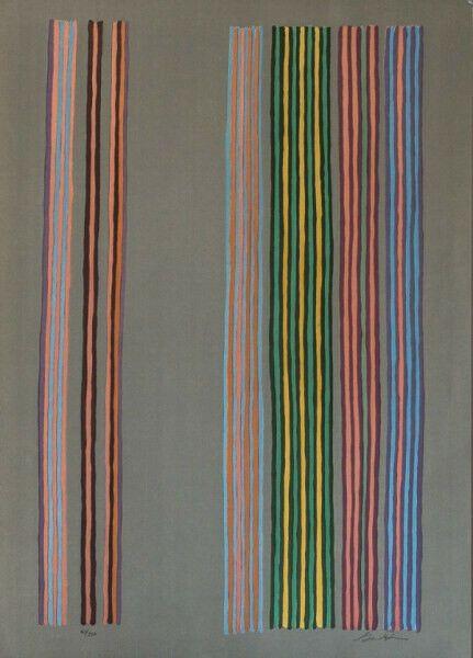 Serigrafía Davis - Royal Curtain