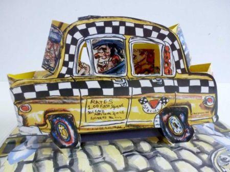 Litografía Grooms - Ruckus Taxi (Mini)