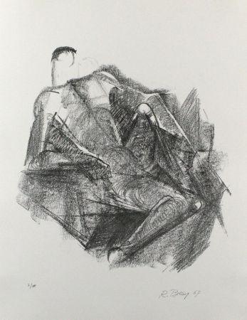 Litografía Belling - Ruhender
