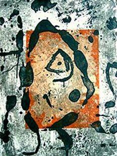 Grabado Miró - Rupestres